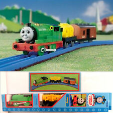 "RARE 2001 🏁 TOMY THOMAS & FRIENDS GULLANE ""PERCY"" BATTERY POWERED TRAIN SET"