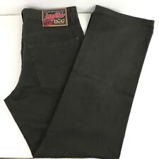 Dolce & Gabbana D&G Men's Jeans Sz 36 Love Affair Italy Olive Green Brown NWOT