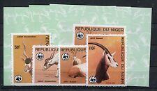 Niger 941/44 + Sonderblöcke postfrisch / WWF .............................1/1132