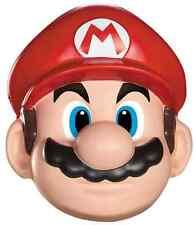 Mario Mask Nintendo Super Brothers Fancy Dress Up Halloween Costume Accessory