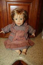 Berenguer Toddler Doll 18 inch Blue Eyes Jc Toys Cute!
