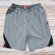Ohio State University Buckeyes Nike Team Men's Mesh Lined Athletic Shorts L