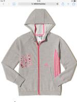 Junior Girls adidas RI Full Zip Hoodie Ages 2/3 3/4 4/5 5/6