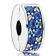 PANDORA Charm Clip Element 791817 NSBMX Silikon-Kern Silber Bead