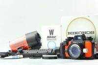 [Exc+5 in Box] Nikon Nikonos V Underwater Camera 35mm Lens + sea&sea YS 50 Japan