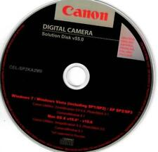 Canon Digital Camera Solution Disk v55.0 ZoomBrowser CameraWindow PhotoStitch