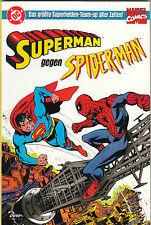 DC / MARVEL CLASSICS (deutsch) # 1 - SUPERMAN / SPIDER-MAN - DINO VERLAG 1999