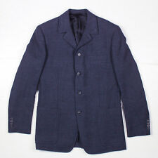 Prada Jacket Blazer Coat - Navy Blue - Wool - 50 - Mens Medium M