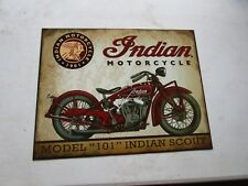 tin metal home garage repair shop man cave decor service station fuel motorcycle