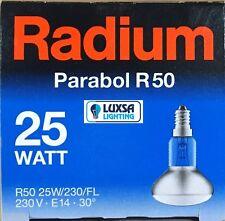 5x Radium R50 25 Watt ES reflector 25W not made any more R50 spot light