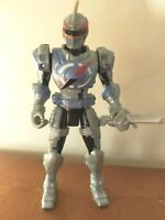 "POWER RANGERS FIGURE 2007 OPERATION OVERDRIVE MERCURY FIGURE 6"" Silver"