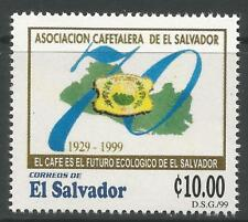 STAMPS-EL SALVADOR. 1999. Coffee Growers Commem. SG: 2502. Mint Never Hinged.