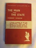 The Man Versus The State Thinkers First Edition 1940