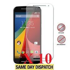 10 X Motorola Moto G 4G 2015 2 Gen Anti-Glare Matte Screen Protectors Film Cover