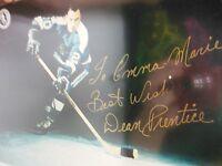 Autographed Dean Prentice Pittsburgh 8x10 Photo w/COA 100% REAL GUARANTEED