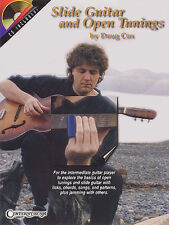 Doug Cox Slide Guitar & Open Tunings Learn to Play TAB Music Book & CD