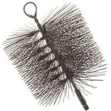 """NEW IMPERIAL BR0184 8"""" ROUND WIRE STOVE CHIMNEY SWEEP CLEANING BRUSH 3059938"""