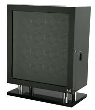 VOLTA Automatic 16 Watch Winder Carbon Fiber Signature Series Box Display Case