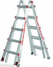 22 1a Demo Classic Little Giant Ladder With Platform Amp Wheels