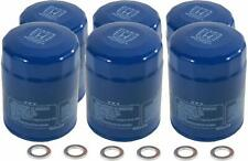 6 GENUINE HONDA ACURA OIL FILTERS WITH DRAIN PLUG WASHERS 15400-PLM-A02