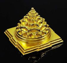 Indian Maha Meru Yantra Brass Vastu Correction & Prosperity Feng Shui Spiritual