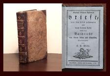 Weiße Gottlieb Wilhelm Rabeners Briefe 1776 Sammlung Korrespondenz rara top