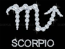 Diamond ZODIAC SCORPIO Bling Vajazzle Horoscope photo Art Imprimé Poster bmp348a