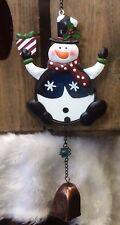 Suncatcher Snowman With Bell Fountasia £7.99