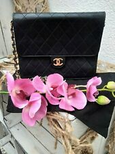 Chanel Tasche VINTAGE FLAP BAG-BLACK-Leather Tote-Purse-2.55 *100% ORIGINAL*