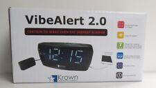 Krown VibeAlert 2.0 Alarm Clock w-Bed Shaker