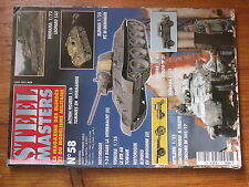 $$w Revue Steel Masters N°58 Leopard 1A5  Pz III Demineur  Volvo TP 21  T-34