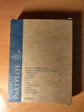 Partylite Candles, One Pack of 12 Vanilla Citron Scented Tealights
