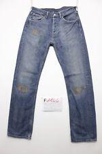 Levi's 501 boyfriend jeans usato (Cod.F1144) Tg.46 W32 L34