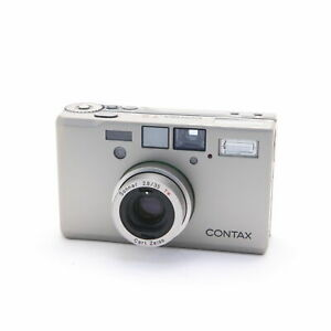 [Mint] Contax T3 Point & Shoot 35mm Film Camera Silver from Japan