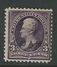 Guam #3, 3 cent Jackson with overprint