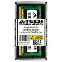 8GB DDR3 1600 MHz PC3-12800 Memory RAM for DELL Latitude 14 3000 Series