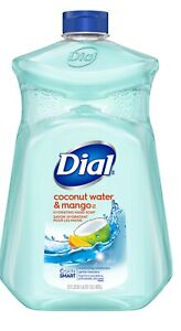 Dial Liquid Hand Soap Wash Hydrating Refill, Coconut Water & Mango. 52 Fl. Oz.