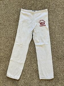 vintage reverse weave sweatpants