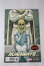 Runaways #1 Secret Wars Phil Noto Retailer Incentive Variant Edition Cover  2015