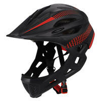 Children Bike Helmet Full Face Off-Road Mtb Bicycle Helmet Balance Sports KM4L2