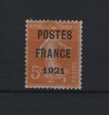 """FRANCE YVERT PREOBLITERE 33 """" PRECANCEL SOWER 5c POSTES FRANCE 1921 """" MH VF T140"""