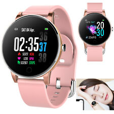 Bluetooth Smart Watch Heart Rate Wrist Band For Samsung S20 S10 Huawei P40 P30