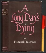 1951 1st Edition A LONG DAY'S DYING Frederick Buechner in Near New Condition