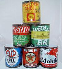 Set of 6 Retro Vintage Oil Can Mugs Gift Motorcycle Car Mechanic Coffee Mug 16