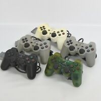 WHOLESALE Lot of 5 PS1 JUNK Analog Controller SCPH-1200 Sony Official 0801