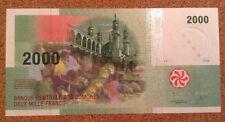 Comoros Banknote. 2000 Francs. Uncirculated.