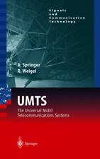 UMTS : The Universal Mobile Telecommunication Systems Andreas Springer