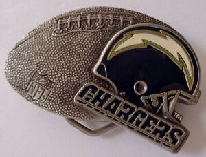 NFL Chargeurs Ceinture Boucle Football & Casque Boucle