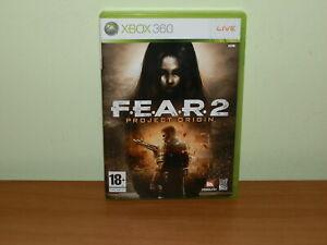FEAR 2 F.E.A.R. 2 PROJECT ORIGINS XBOX 360 USATO SICURO VERSIONE ITALIANA