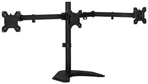 Triple Monitor Stand 3 Monitor Stand Fits 19-27 Inch Computer Screens